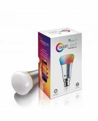 Slver 7w Smart Light Rainbow Led Bulb