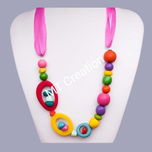 Colored Bead Necklace
