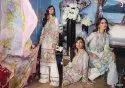 Designer Cotton Print Embroidered Kurtis