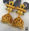 South Indian Style Copper Jhumki MJ03
