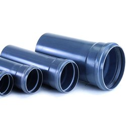 UPVC SWR Pipes, Length: 6m, for Plumbing