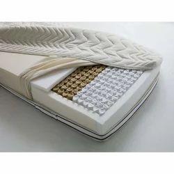 White Pocket Spring Mattress, 6 Inch