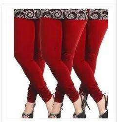 Cotton Plain Lyra Churidar Leggings