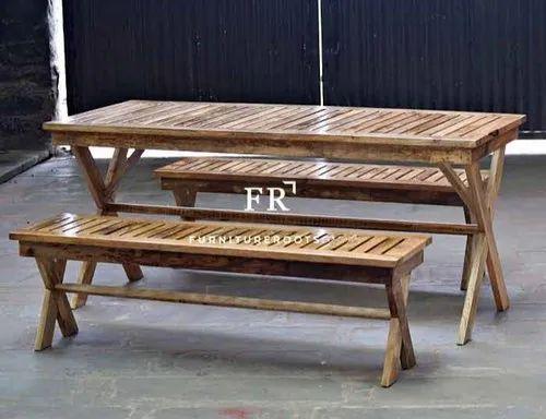 Superb Home Vintage Furniture Diner Dining Bench In Reclaimed Wood For Restaurants Pabps2019 Chair Design Images Pabps2019Com