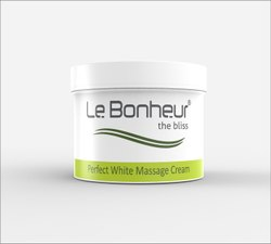 Le Bonheur Perfect White Massage Cream 400gm