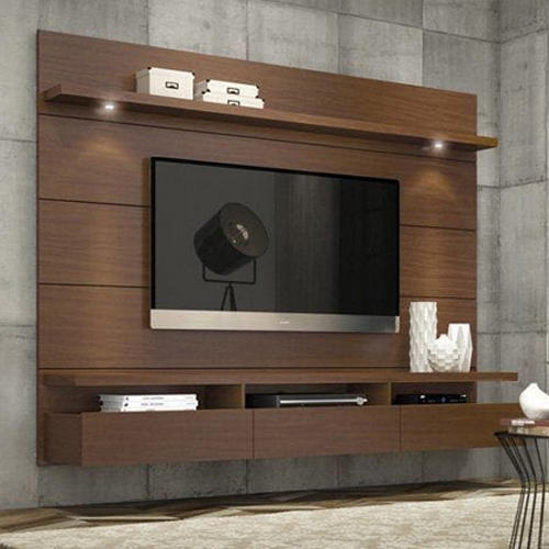 Tv Stand Designs With Price : Wooden tv unit wall mounted led