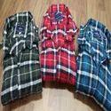 Checked Cotton Mens Casual Shirt