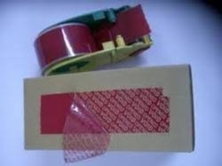 Permanent Security Seal Tape