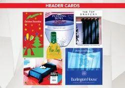 Header Cards & Inserts