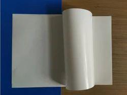 JK PE Coating Mirror Coated Self Adhesive Paper, For Industrial