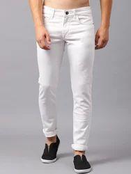 1270f2b9 Men Casual Plain White Jeans, Rs 599 /piece, Dealsfive | ID: 19651025962