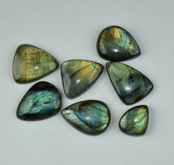 Genuine Labradorite Freeform Multi Fire Loose Gemstone