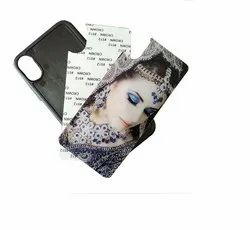 White Sublimation Glass Phone back Cases