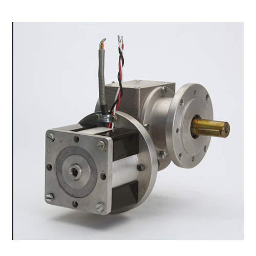 50-150 W Bldc Motor With Worm Gearbox, 24 V