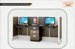 Work Station Linear Partition