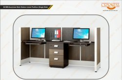 Office Workstation (Linear Partition)