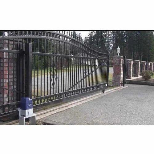 Automatic Sliding Main Gate
