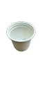 White Plain 110ml Biodegradable Cornstarch Cup For Party Supplies