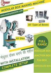 M.S Electric Box Making Machine