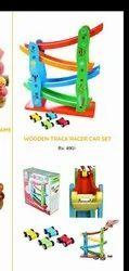 Wooden slippery car, For School/Play School