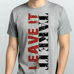 Half sleeve Mens Graphics Print Round T Shirt