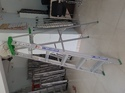 Aluminum Self Support Ladder With Tool Trays