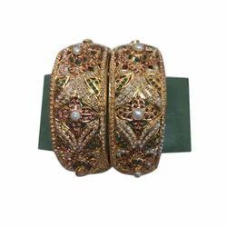 Golden Artificial Ladies Bangles