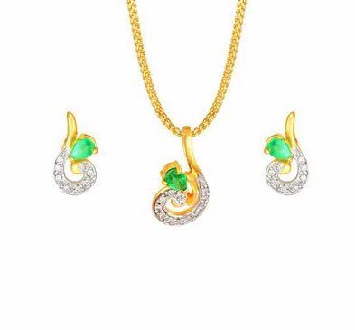 Tanishq pendant earring set 5020141cdaga52 rs 25700 set id tanishq pendant earring set 5020141cdaga52 aloadofball Choice Image