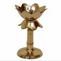 AJN-123 Gold Plated Diya Stand