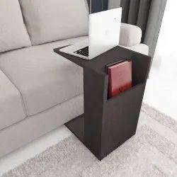 Brown CJ Interio Wooden Laptop Stand