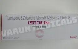 Lazid E kit (Lamivudine Zidovudine Efavirenz)