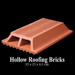 Clay Roofing Brick, Size: 35 x 6.5 cm
