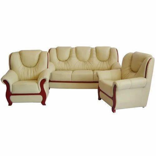 Beau Synthetic Leather Sofa Set