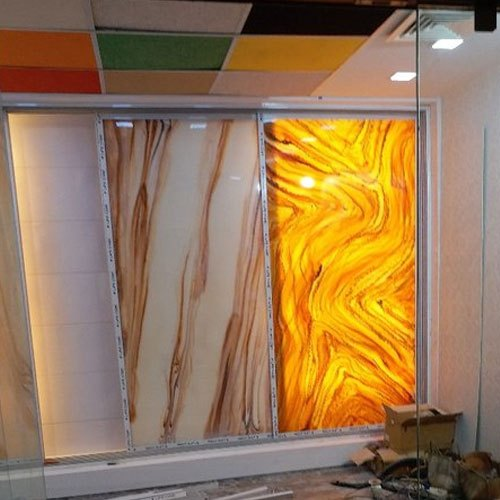 Translucent Alabaster Sheets Size Dimension 8x4 Feet Rs 850