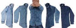 Denim Print Shirts Fashion 5 SHADES