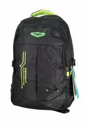 Polyester Plastic Zip School Bag