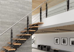 SS Baluster Glass Handrail