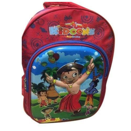 Fakhri Bag Canvas School Kids Backpack Bag