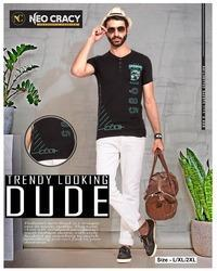 Mens Stylish Jeans And Half Sleeves T Shirt