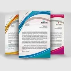 Paper Letter Pad Printing And Designing Service