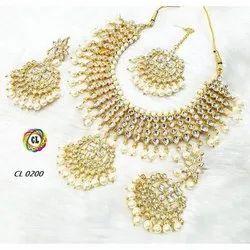 Cl Jewellery Handmade Kundan Dulhan Set Wedding Jewellery Collection