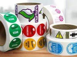 Paper PVC Stickers Printing Service, in Delhi