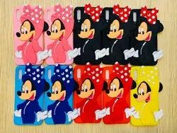 Minnie Cartoon Characters Silicon Mobile Cover