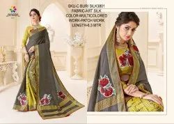 Rachna Art Silk Patch C Buri Silk Catalog Saree For Women
