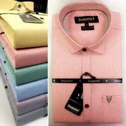 Mens Cotton Shirt by Snapshirt