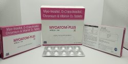 Myo-Inositol, D-Chiro-Inositol Calcium and Vitamin D3 Tablets