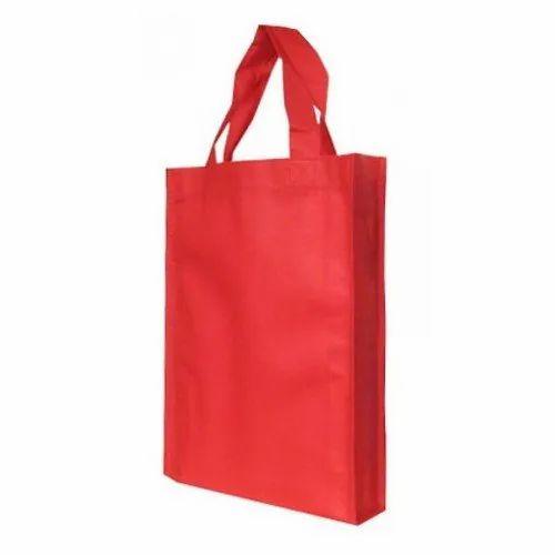 Red Shopping Non Woven Bag