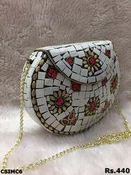 Stylish Metal Mosaic Bag