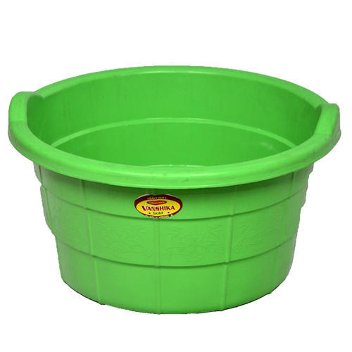 unbreakable plastic tub at rs 50 piece id 14288824988