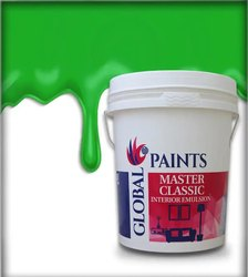 WALLS Water Based Paint Global Paints Master Classic Interior Emulsion, Packaging Type: Can, For Plastic Paint